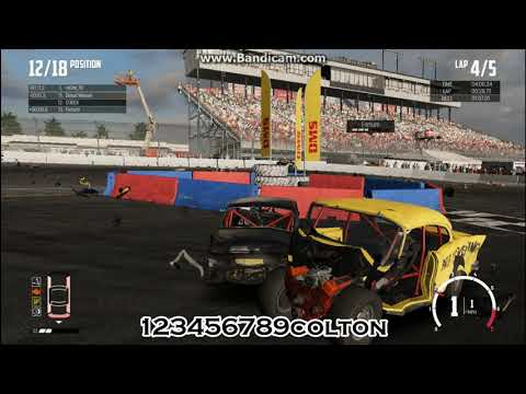 """Wreckfest - Big Valley Speedway Outer Loop """"That was a race LOSING move!"""""""