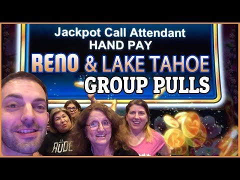 💰🌳💰 GROUP JACKPOT HANDPAY on Lucky Tree 🌳 ✦ Reno & Lake Tahoe Group Pull  ✦ BrianGambles.com