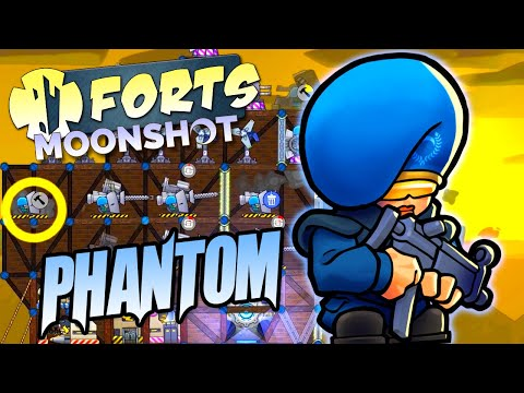 Phantom Commander Showcase Forts Moonshot DLC Gameplay |