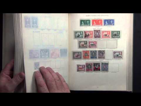 KGVI Extensive All Different Commonwealth Stamp Collection