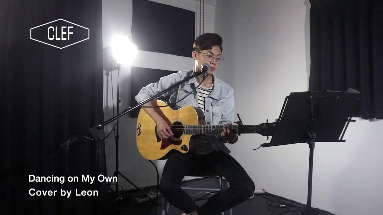 Dancing on my own Cover By Leon