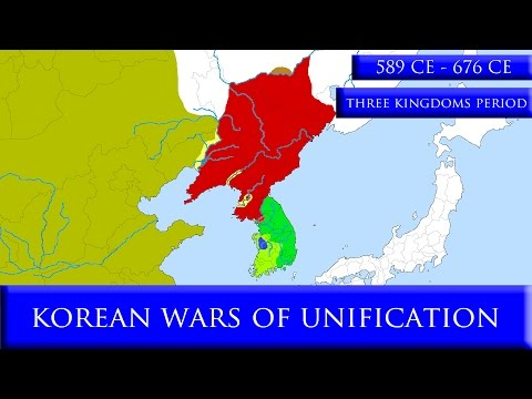 Korean Wars of Unification (7th Century)