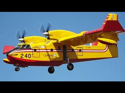 YQBspotting Compilation #9 : Water Bombers at Quebec City Airport (YQB)