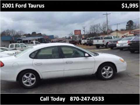 2001 Ford Taurus Used Cars White Hall Ar