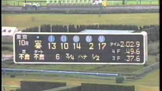 第104 回 天皇賞(秋) ー 暗転! メジロマックイーン斜行、降着(1991.09.27)