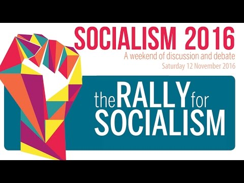 Socialism 2016 Saturday Rally, hosted by the Socialist Party