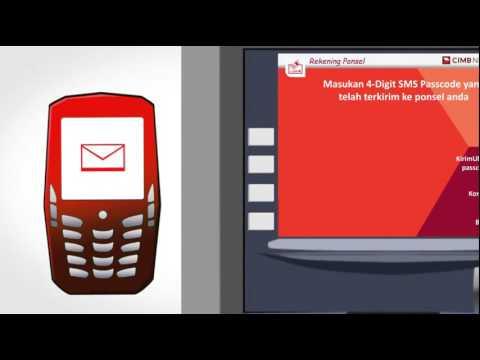 Cara Ambil Uang Di Atm Cimb Niaga Melalui Ponsel Youtube