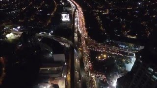 DJI Phanton 3 Advanced - Traffic Watch Over EDSA (HD)