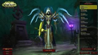 All My Characters In Legion! Best Legion Transmog! (Legendaries, Artifact Weapons, 60 Twinks)