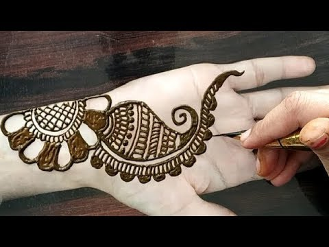 mehndi designs front hand easy and beautiful