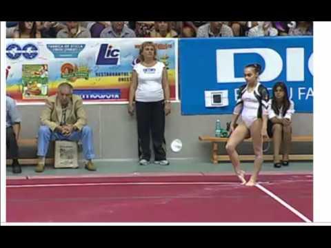 2011 Romanian Nationals FX Finals - Raluca Haidu