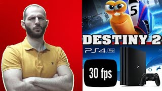¡¡¡DESTINY 2 DEJA EN RIDÍCULO A PS4 PRO CON 30 FPS!!! - Sasel - Noticias - Español - Mentira 4K