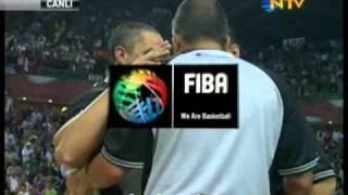Sırbistan 82 - 83 Türkiye maçin son bölümü (böyle heyecan olmaz :o)
