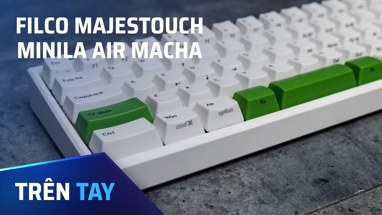 Filco Minila Air Matcha – bàn phím cơ dễ thương cho cả Mac lẫn Windows