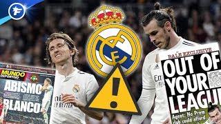 Les polémiques Bale et Modric mettent le feu au Real Madrid | Revue de presse
