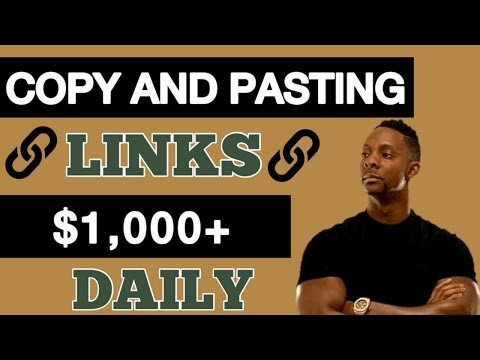 Earn $1000 A DAY Online For FREE Copy & Pasting Links! (make money online) How To Make Money Online