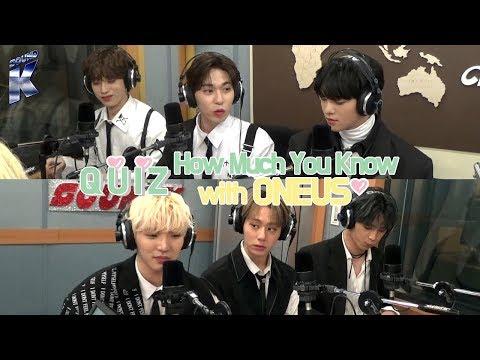[Sound K] 원어스 (ONEUS)'s Episode on Arirang Radio! : Quiz - How Much You Know