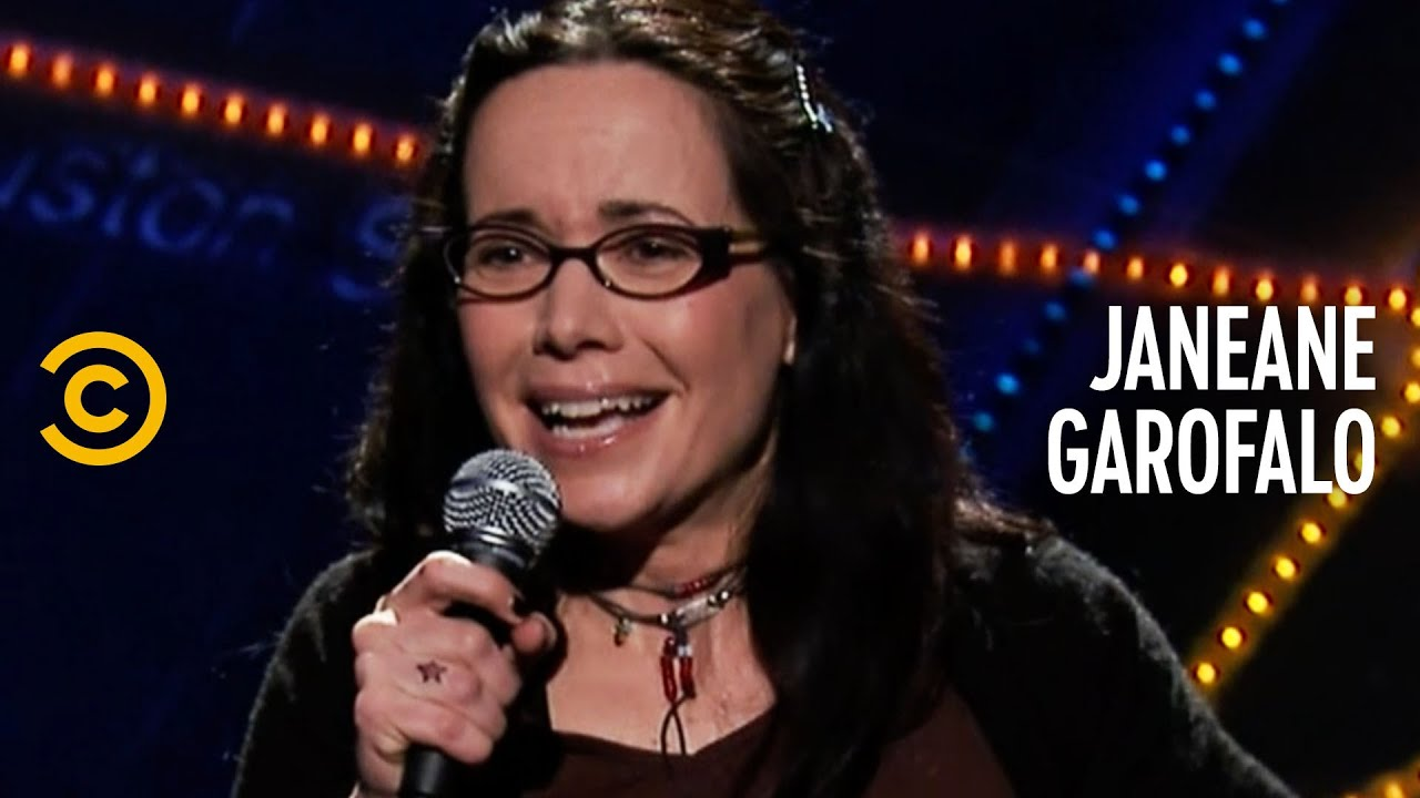 When You Fly Internationally, You Get Asked This - Janeane Garofalo