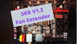 SKR 1.3 - Fan Extender (Part 1) - Stepper Cooling
