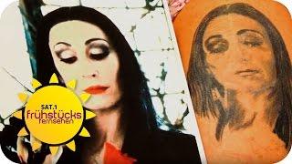 Tattoo-Desaster: Andy Engel hilft | SAT.1 Frühstücksfernsehen