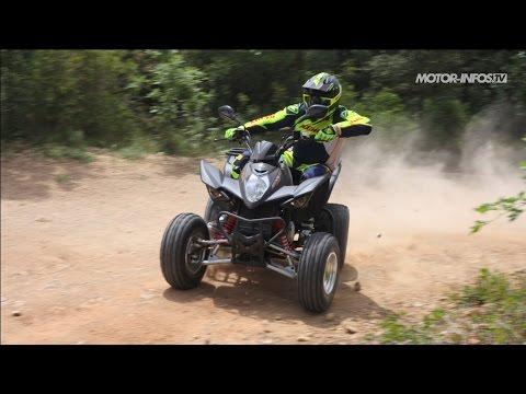 Essai Kymco Maxxer 300 SE 2015
