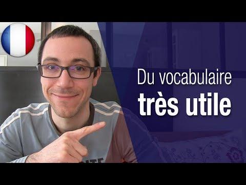 Le vocabulaire pour structurer un exposé en français