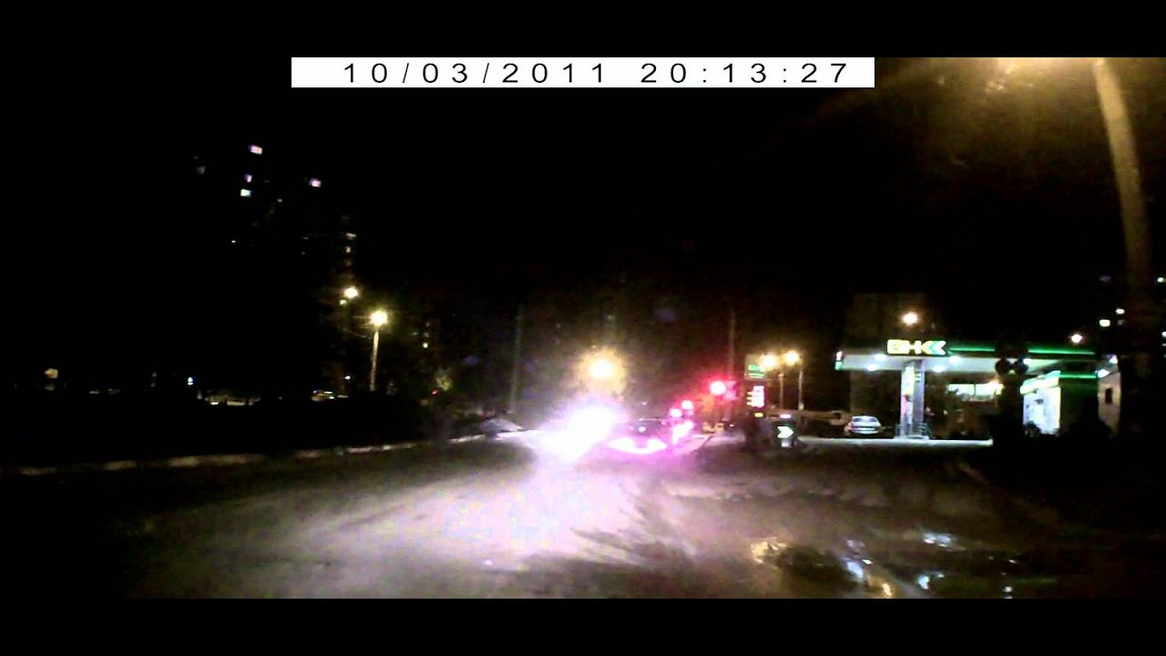 Авария 03-10-2011 (видеорегистратор)