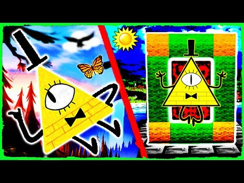 Minecraft GRAVITY FALLS - How to Make a Portal to BILL CIPHER