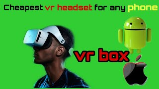 English Miklik Review - VR Box Virtual Reality  headset Unboxing and Review in English