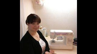 #5 Знакомство со швейной машинкой. Мастер - классы от Ники. Шьем с нуля.