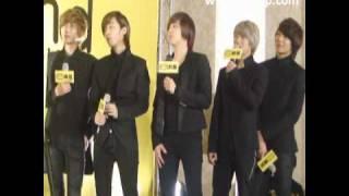 華人世界時報 CWNTP 101224 韓國首席美男樂團 FTIsland 台北感恩慶功記者會 1.wmv