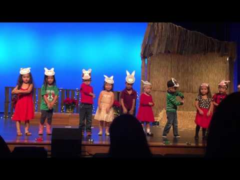 Madison's Preschool Christmas Program 2015