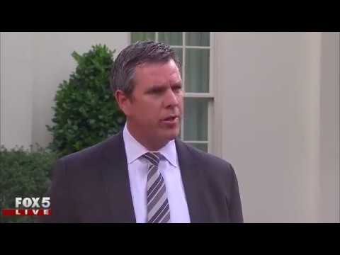 Penguins head coach at the White House