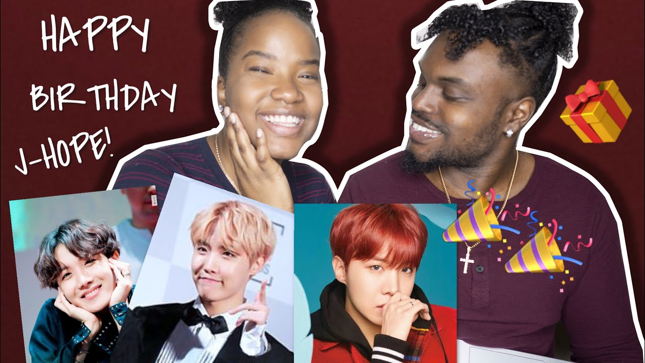 HAPPY BIRTHDAY TO BTS J-HOPE| CUTE AND FUNNY MOMENTS REACTION |COUPLE|  CHRISTINA & ED