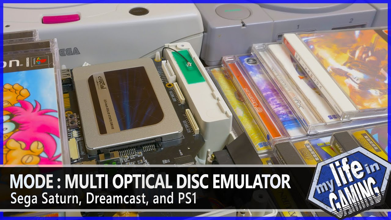 Download MODE - Optical Disc Emulator for Saturn, Dreamcast and PlayStation / MY LIFE IN GAMING