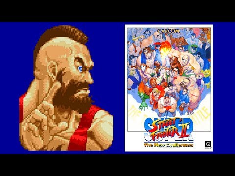 ザンギエフ(Zangief) - SUPER STREET FIGHTER II for SFC/SNES