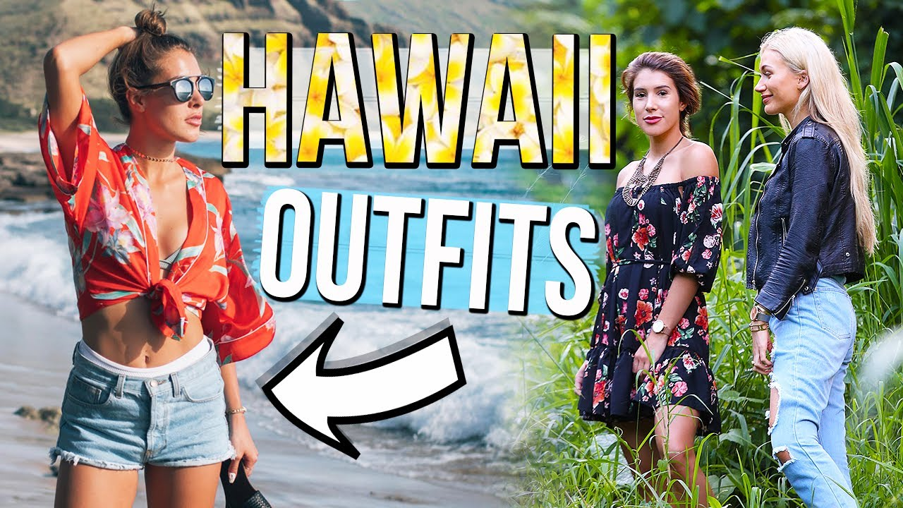 daf618b801de HAWAII OUTFITS OF THE WEEK - YouTube