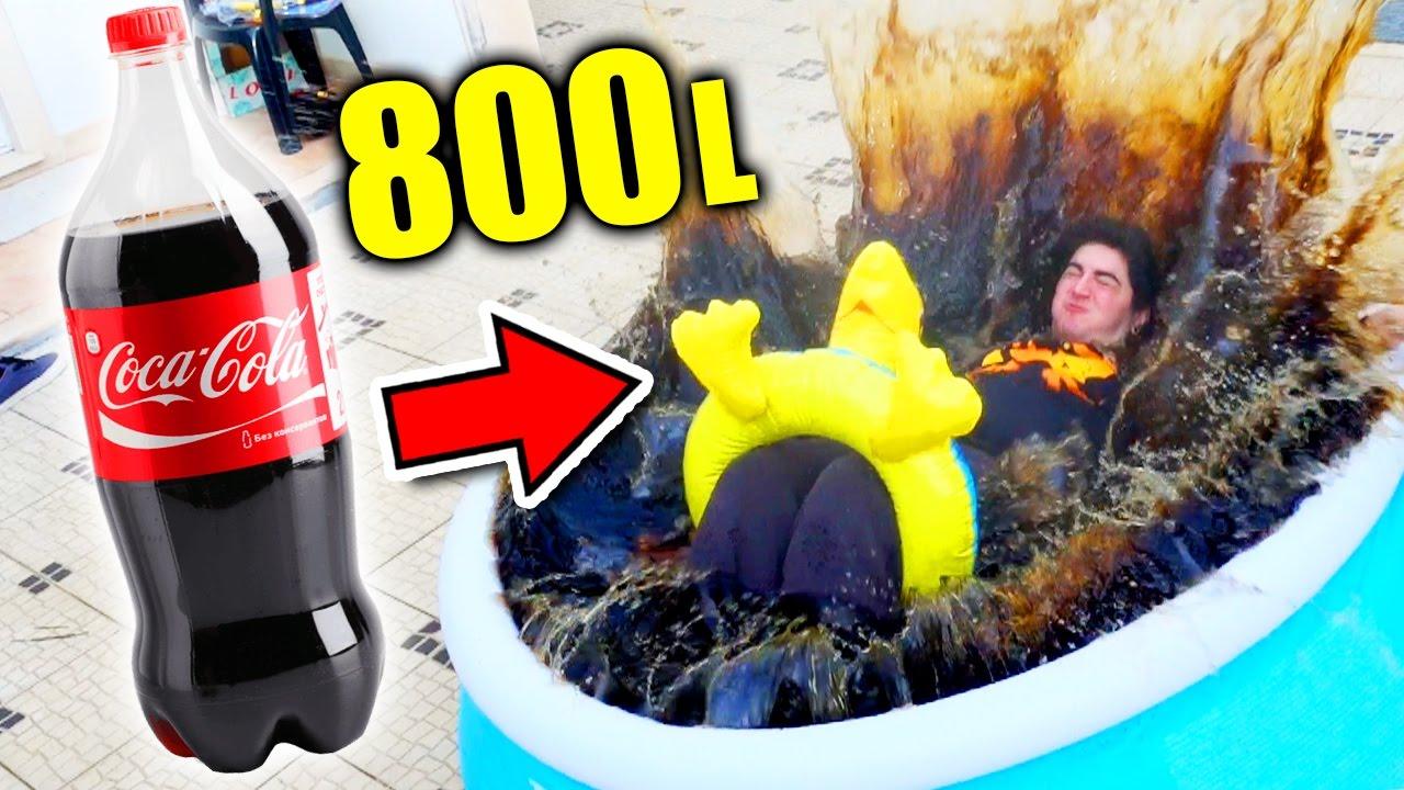 Mergulhei numa piscina de coca cola youtube for Piscina de coca