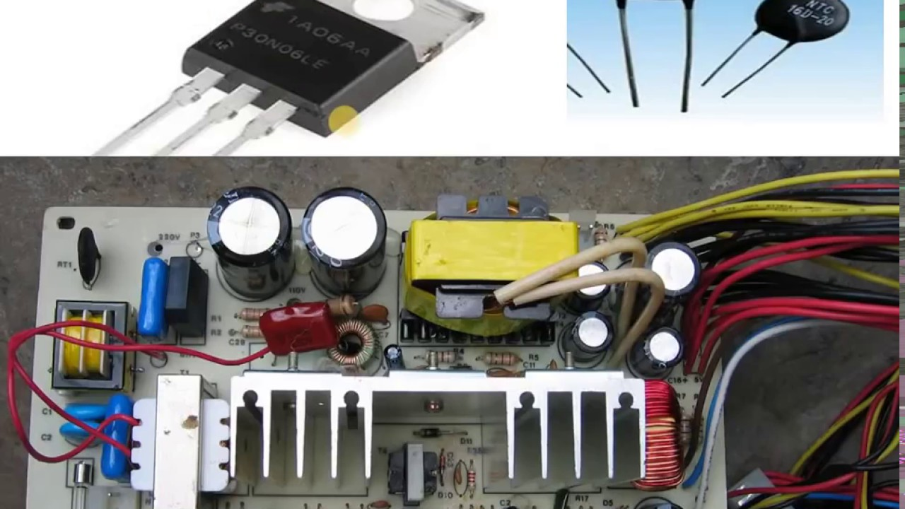 cpu power supply Repair in Hindi, How To Check & Repair SMPS - YouTube