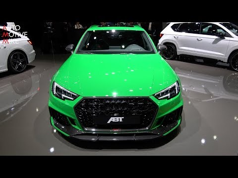 THIS IS THE ABT AUDI RS4+ - GENEVA MOTORSHOW 2019
