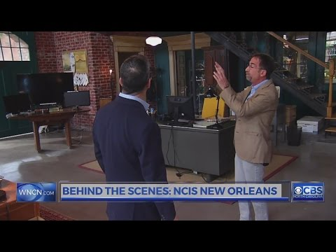 Behind The Scenes At NCIS New Orleans
