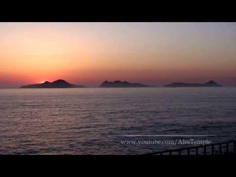 Sunset on Islas Cies - Vigo, Spain