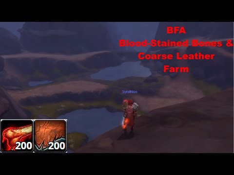 Best Blood Stained Bones/Coarse Leather Farm in BFA