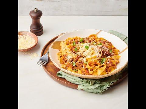 Vegetarian bolognese recipe