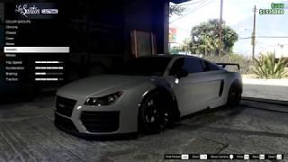 Audi R8 V10 in Gta 5 online (tutorial)
