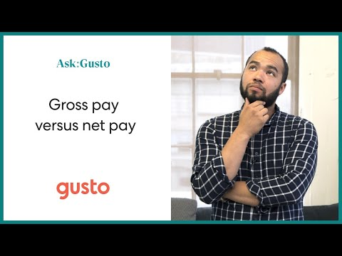 Gross Pay vs. Net Pay: What