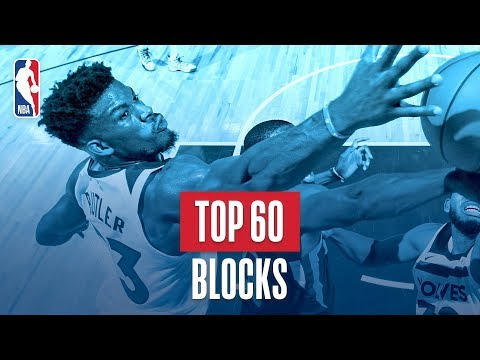 Top 60 Blocks: 2018 NBA Season
