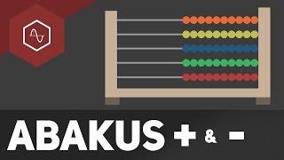 Kugelrechenmaschine!? – Abakus Plus und Minus