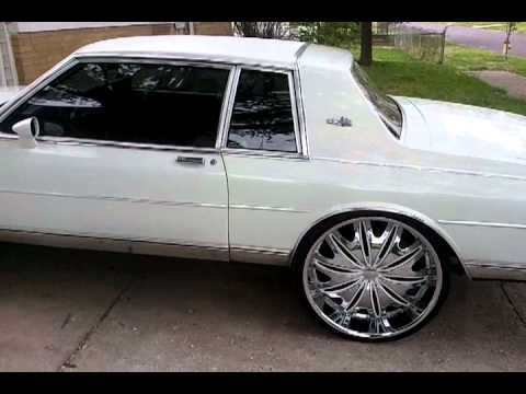 84 2dr Chevy Caprice on 26s - YouTube