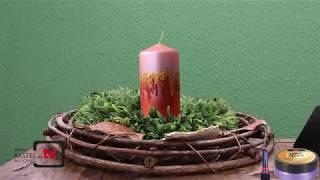 Ausdrucksvolle Kerzen-Gestaltung
